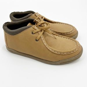 3/$20 Children's Place tan faux leather boot shoes